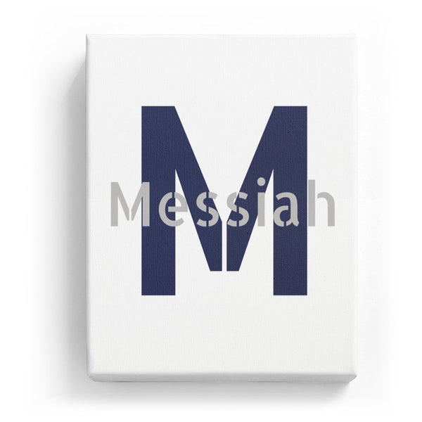 Messiah Overlaid on M - Stylistic