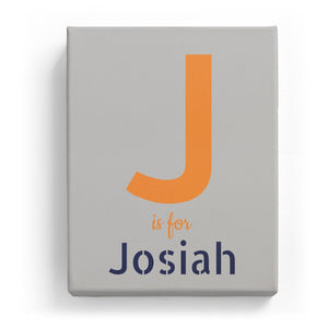 J is for Josiah - Stylistic