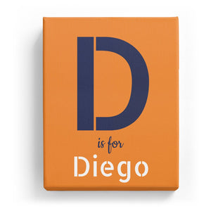 D is for Diego - Stylistic