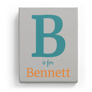 B is for Bennett - Classic