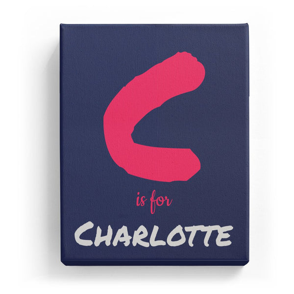 C is for Charlotte - Artistic