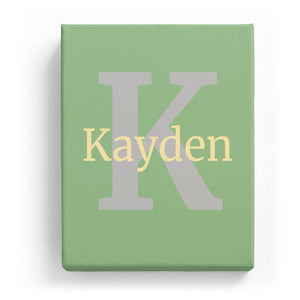 Kayden Overlaid on K - Classic