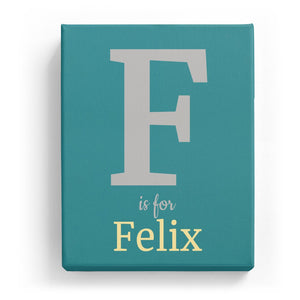 F is for Felix - Classic