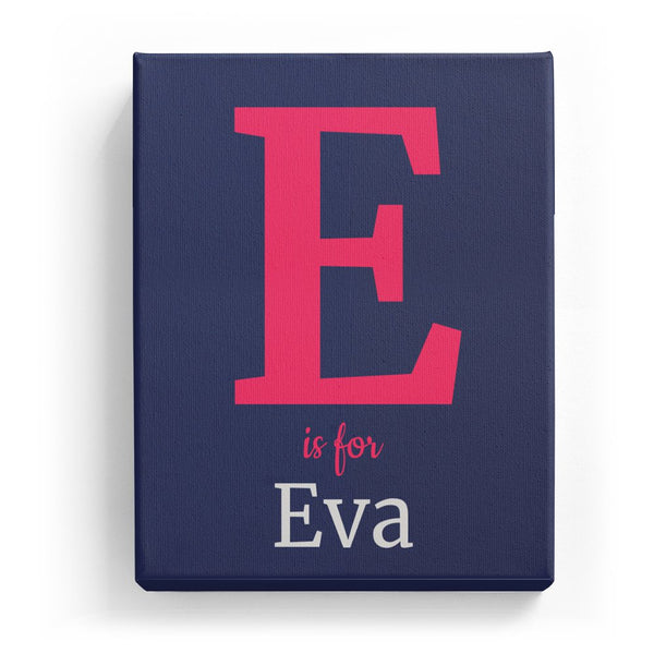 E is for Eva - Classic