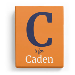 C is for Caden - Classic