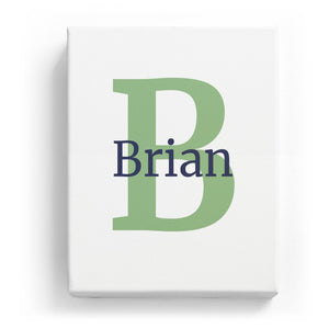 Brian Overlaid on B - Classic