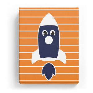 Rocketship with a Face