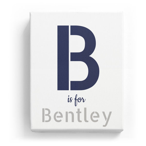 B is for Bentley - Stylistic