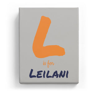 L is for Leilani - Artistic