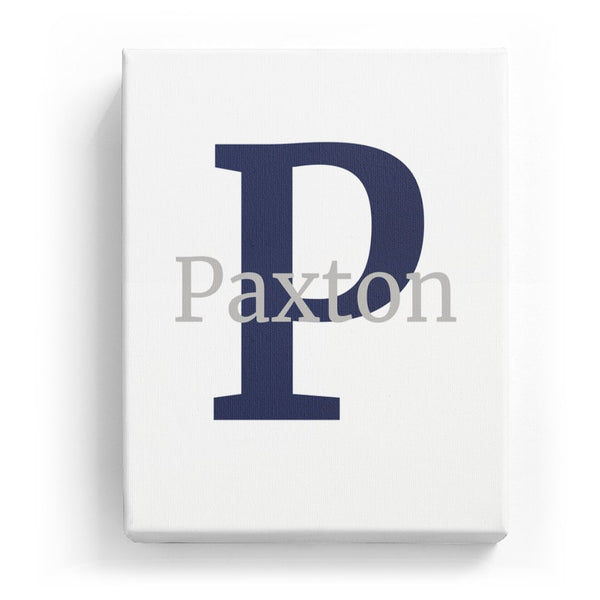 Paxton Overlaid on P - Classic