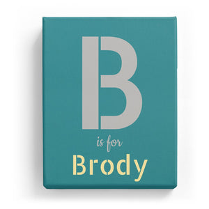 B is for Brody - Stylistic