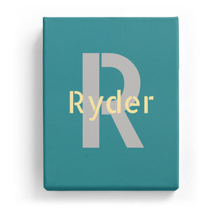 Ryder Overlaid on R - Stylistic