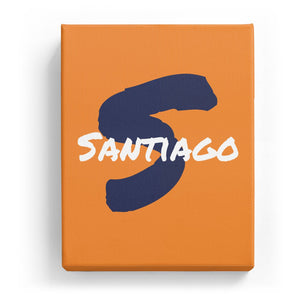 Santiago Overlaid on S - Artistic