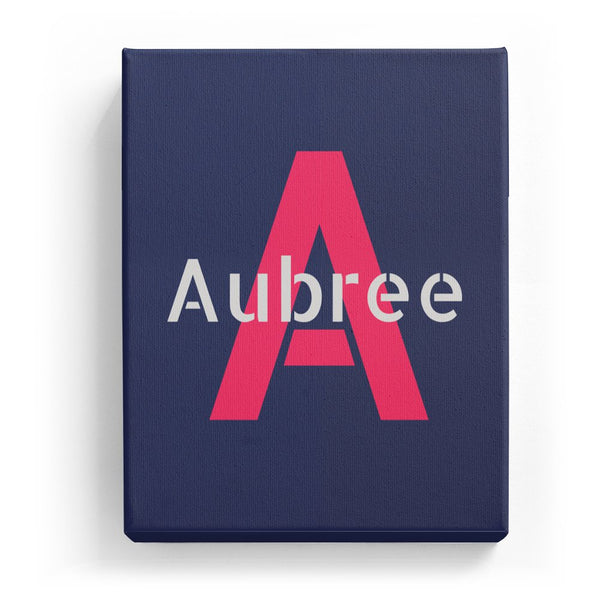 Aubree Overlaid on A - Stylistic