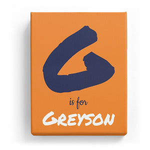 G is for Greyson - Artistic