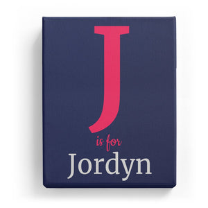 J is for Jordyn - Classic