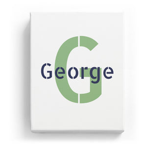 George Overlaid on G - Stylistic