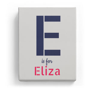 E is for Eliza - Stylistic