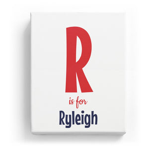 R is for Ryleigh - Cartoony