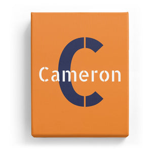 Cameron Overlaid on C - Stylistic