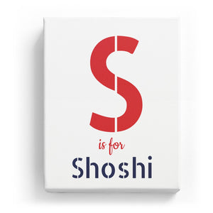 S is for Shoshi - Stylistic