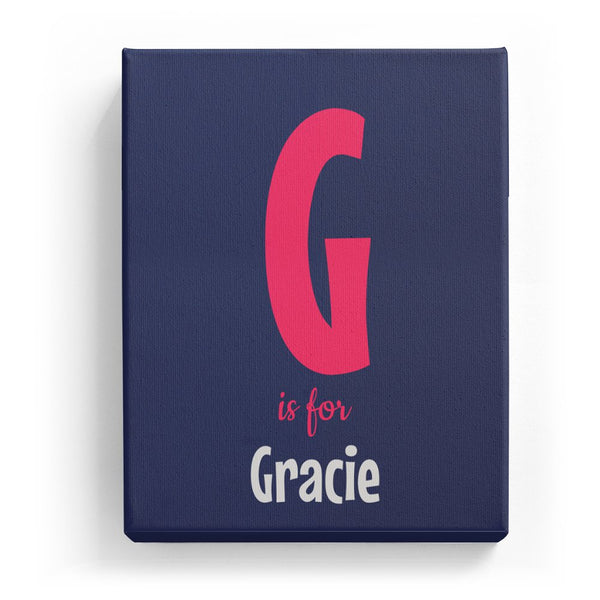 G is for Gracie - Cartoony