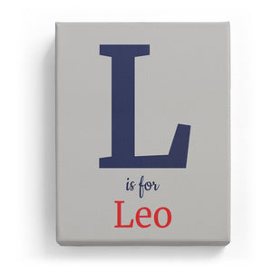 L is for Leo - Classic