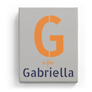 G is for Gabriella - Stylistic