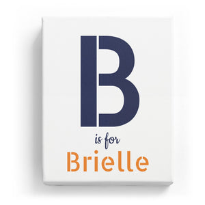 B is for Brielle - Stylistic