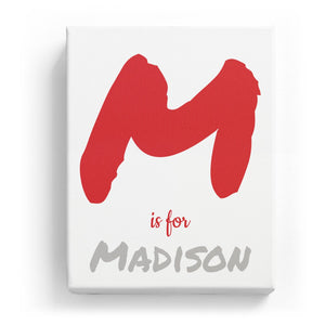 M is for Madison - Artistic