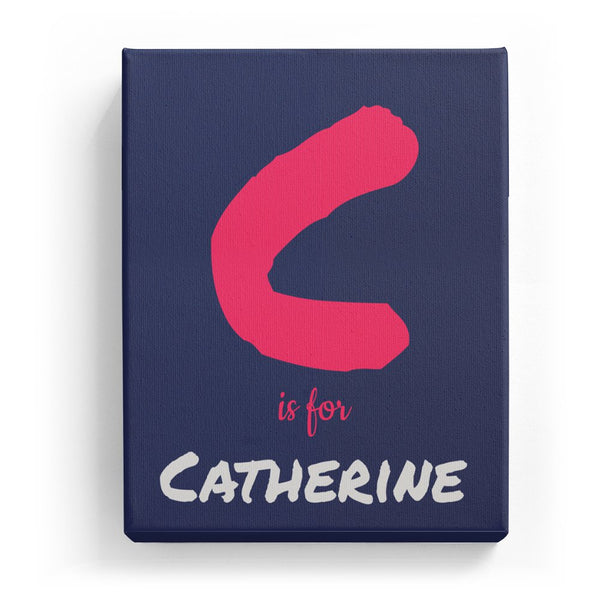 C is for Catherine - Artistic