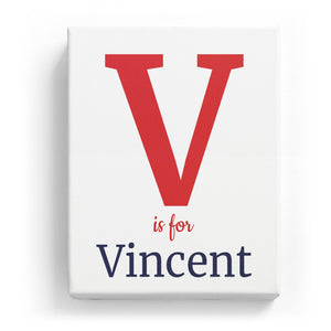 V is for Vincent - Classic