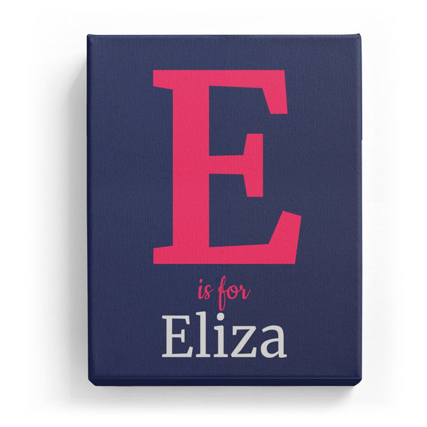 E is for Eliza - Classic