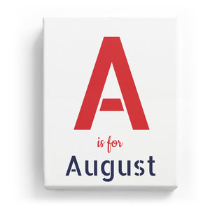 A is for August - Stylistic