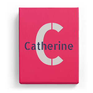 Catherine Overlaid on C - Stylistic