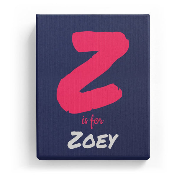 Z is for Zoey - Artistic
