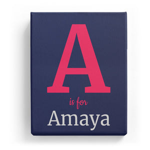 A is for Amaya - Classic