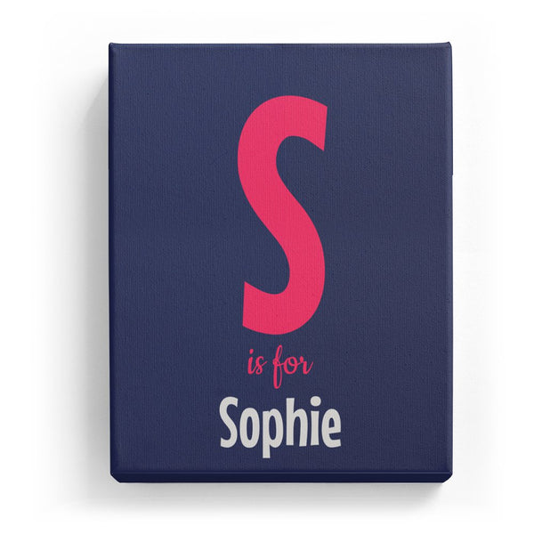 S is for Sophie - Cartoony