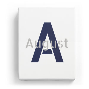 August Overlaid on A - Stylistic