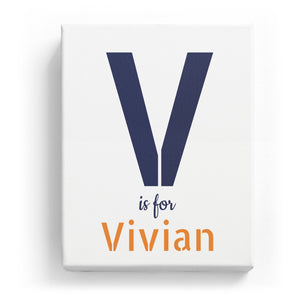 V is for Vivian - Stylistic
