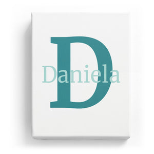 Daniela Overlaid on D - Classic