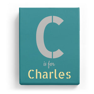 C is for Charles - Stylistic