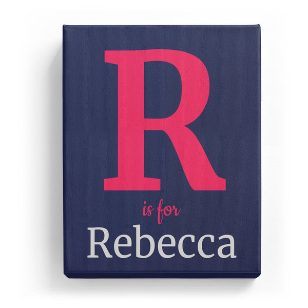R is for Rebecca - Classic