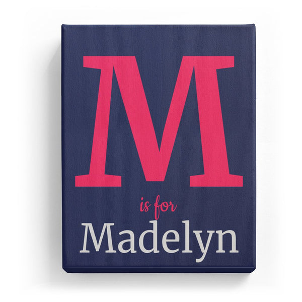 M is for Madelyn - Classic