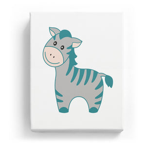 Zebra - No Background (Mirror Image)