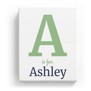 A is for Ashley - Classic