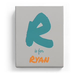 R is for Ryan - Artistic