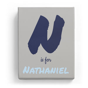 N is for Nathaniel - Artistic