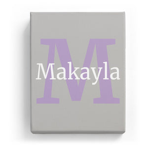 Makayla Overlaid on M - Classic