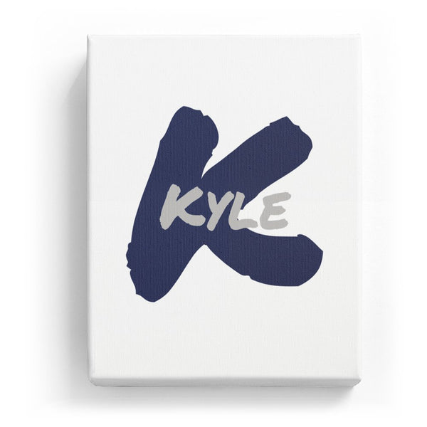 Kyle Overlaid on K - Artistic